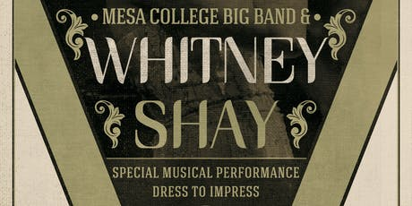 Whitney Shay with the Mesa College Big Band tickets