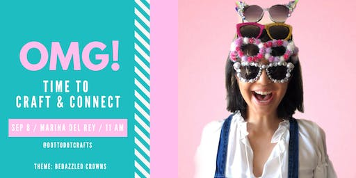 Ladies Craft & Connect: Bedazzled Headband Crowns