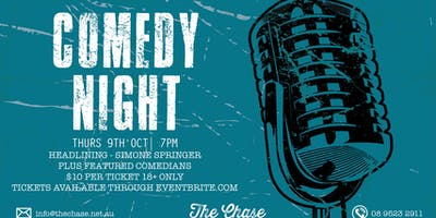 Comedy night @ The Chase
