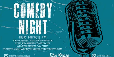 Comedy night @ The Chase tickets