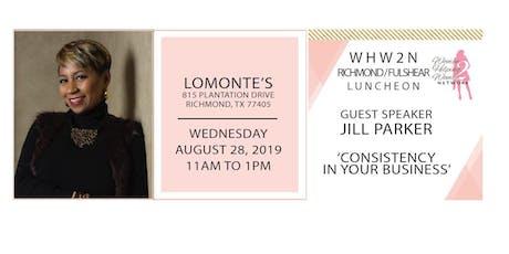 WHW2N - Richmond / Fulshear Luncheon - NEW LOCATION tickets