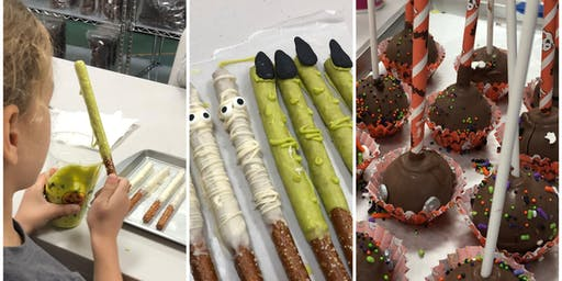 Kid's Decorating Class:Halloween Tricks and Treats at Fran's Cake and Candy Supplies