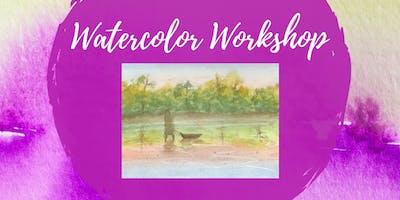 Watercolor Workshop for Kids - Landscape Painting