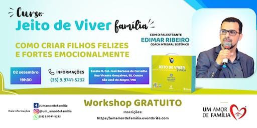 Workshop GRATUITO - Jeito de Viver Família