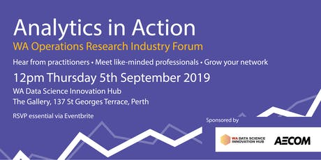 Analytics in Action - September 2019 Event tickets