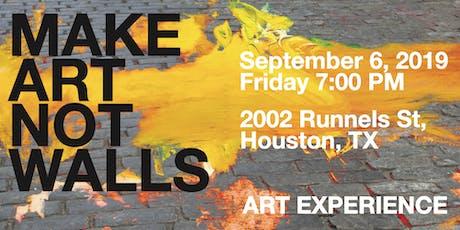 MAKE ART NOT WALLS : INSTALLATION III tickets