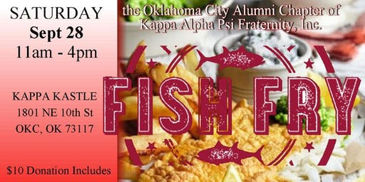 Kappa Alpha Psi OKC AL Bobby Washington Fish Fry