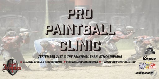Dan Norcross Ironmen Pro Paintball Clinic