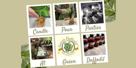 Candle Making Parties are Back with Green Daffodil tickets