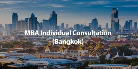 CUHK MBA Individual Consultation in Bangkok tickets