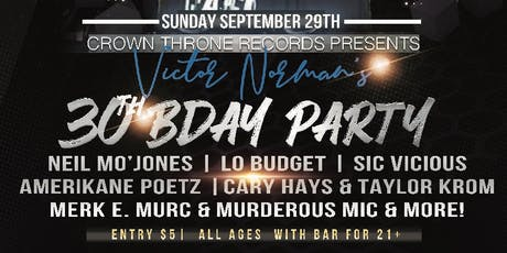 Victor Norman's 30th Birthday Party tickets