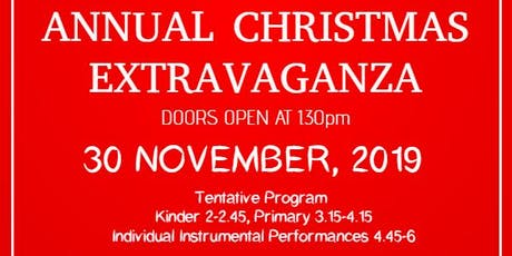 Melbourne Performing Arts Annual Christmas Extravaganza tickets