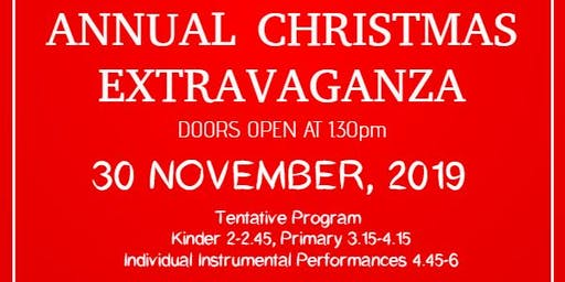 Melbourne Performing Arts Annual Christmas Extravaganza