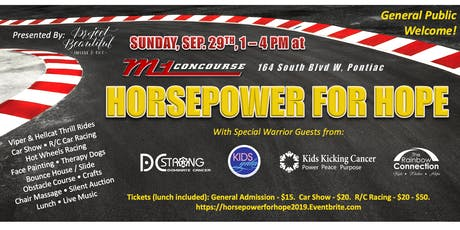 2019 HORSEPOWER FOR HOPE at M1 Concourse! tickets