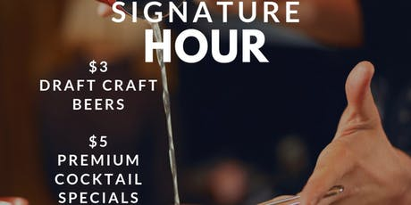 $5 Dollar Happy Hour - Premium Cocktails (Tues - Thur) tickets