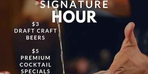 $5 Dollar Happy Hour - Premium Cocktails (Tues - Thur)
