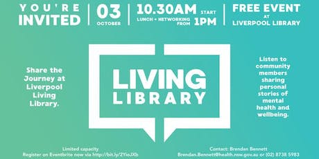 Living Library - Share the Journey tickets