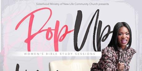 """Women's Pop-Up Bible Study... """"Help!"""" tickets"""