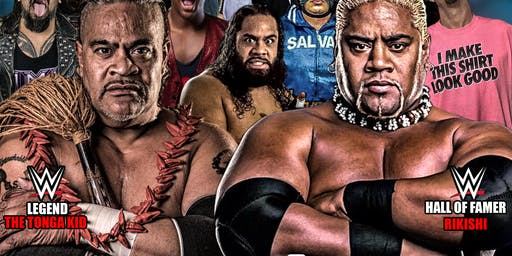 Wrestling for Autism Fundraiser, featuring WWE legends, Rikishi & Tonga Kid