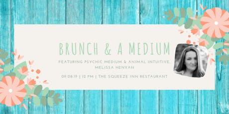 Brunch and a Medium tickets