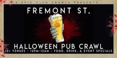 2019 Fremont Las Vegas Halloween Bar Crawl - Day Crawl tickets