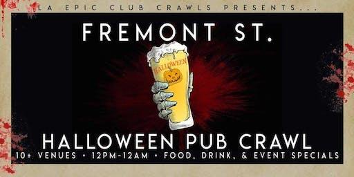 2019 Fremont Las Vegas Halloween Bar Crawl - Day Crawl