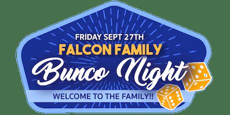 Falcon Family Bunco Night tickets