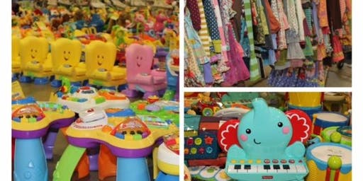 JBF children's consignment event: (FREE ticket)