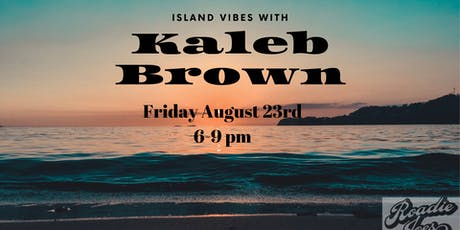 Live music from Kaleb Brown tickets
