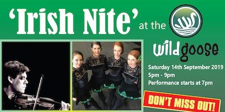 'Irish Nite' at The Wild Goose tickets