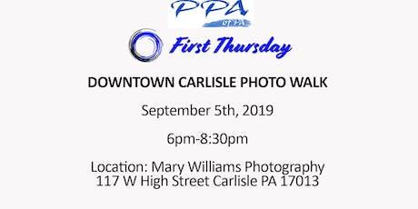 First Thursday- Downtown Carlisle Photo Walk tickets