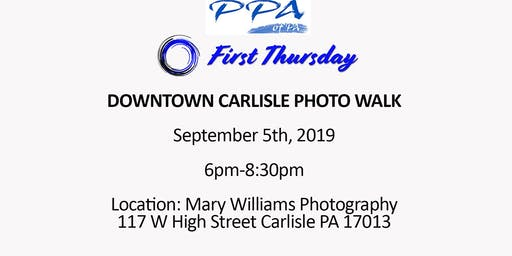 First Thursday- Downtown Carlisle Photo Walk
