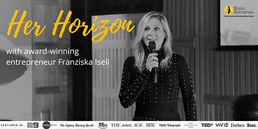 Her Horizon with Franziska Iseli in Sydney