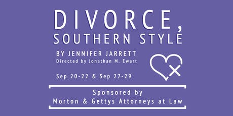 Divorce, Southern Style (Matinee) tickets