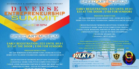 Diverse Entrepreneurship  Summit tickets