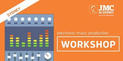 Electronic Music Production Workshop (JMC Sydney) 30th Sept 2019