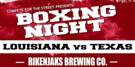 Boxing Night: Louisiana vs Texas tickets