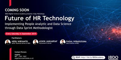[PAID WORKSHOP] Session 2 : Future of HR Technology : Implementing People Analytic and Data science through Data sprint