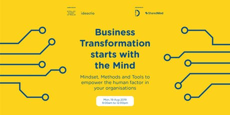 Business Transformation starts with the Mind tickets