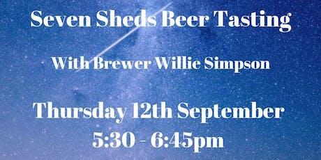 Seven Sheds Beer Tasting tickets