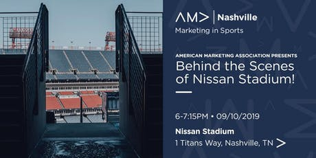 Marketing In Sports: Behind the Scenes of Nissan Stadium tickets