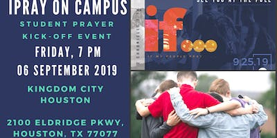 iPray On Campus Student Prayer Kick-Off