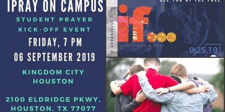 iPray On Campus Student Prayer Kick-Off tickets