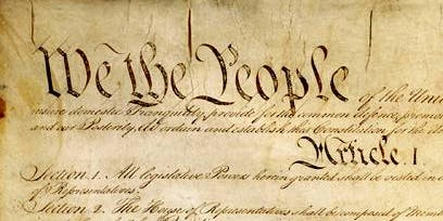 We The People - Celebrating Constitution Day