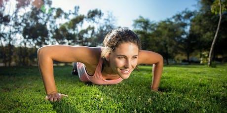 Park Fitness in Eastlakes Reserve: THURSDAY tickets