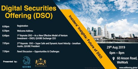 Digital Securities Offering (DSO) tickets