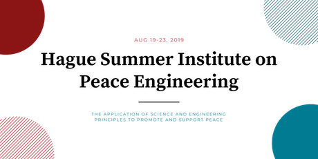 The Hague Summer Institute on Peace Engineering Public Event tickets