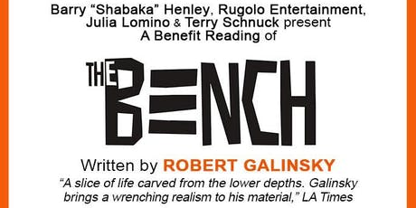The Bench Benefit Reading - Tuesday August 20th tickets