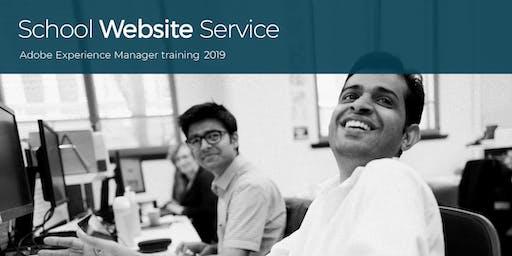 Albury - Adobe training for school website