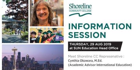 Shoreline Info Session Jakarta tickets